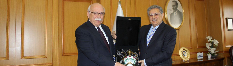 Bakanımızın Nabi AVCI ve PRof. Dr. M. Zafer GÜL